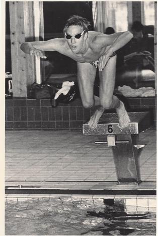 Swimmer Joacim