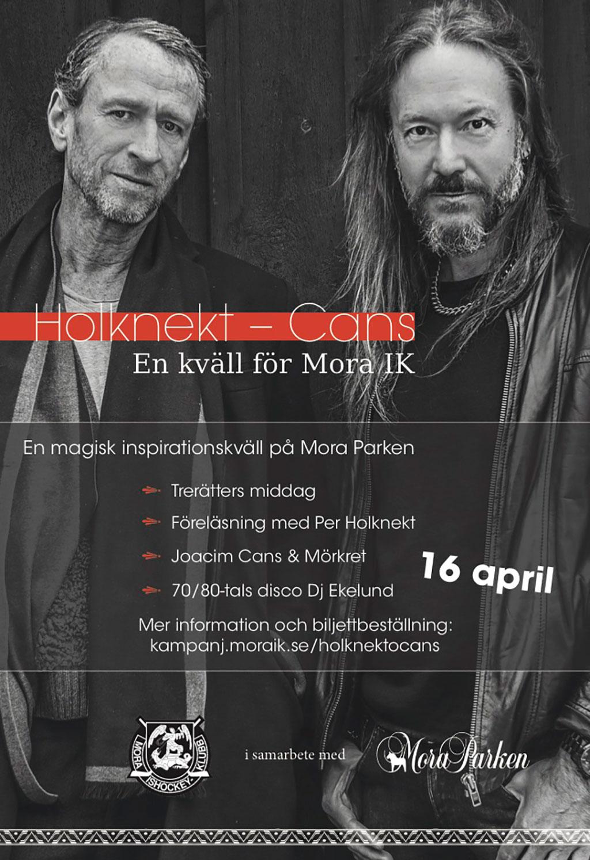 Holknekt & Cans: En Kväll för Mora IK